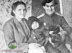 А.П. Моисеев с семьей и Каро.