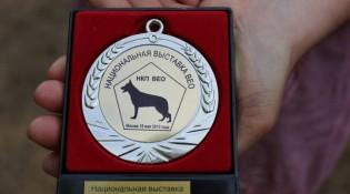 Медаль НКП ВЕО ЧК 18.05.13г. Фото Г.Масловой.