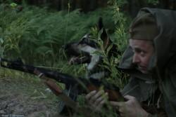 Из фильма Джульбарс и Дина. Фото П.Якушевича. Для сайта.