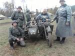 Оздер Русский Риск с участниками реконструкции боев 1941г.