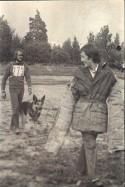 Задержание на соревн. со служ соб. В.Кулеш с Дунаем, Нарушитель -К.Гапаньков 1977-78г.