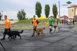 Парад участников соревнований, Брест, 04.06.17.
