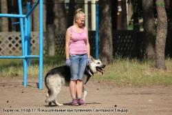 Показат. выступл-я Светлана и Ельдар.19.08.17 (2)