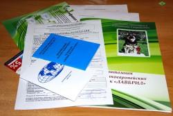 Фото пакета документов Лавбрил.