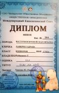 ВЕО Лавбрил Здрава. Диплом МКС. 15.09.18г.