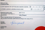 Сертификат Хельхаус Лавинии 15.11.2011г
